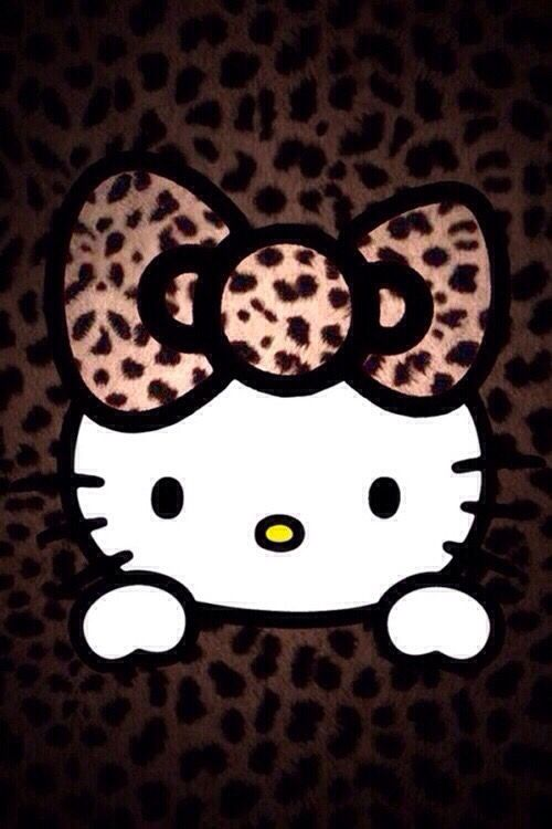 Hello Kitty Wallpaper Iphone Animal Print Hello Kitty Hello