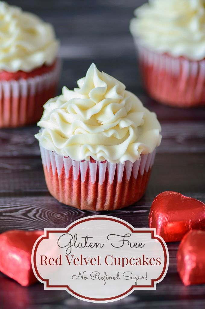 Gluten Free Red Velvet Cupcakes I M In Love With These Gorgeous