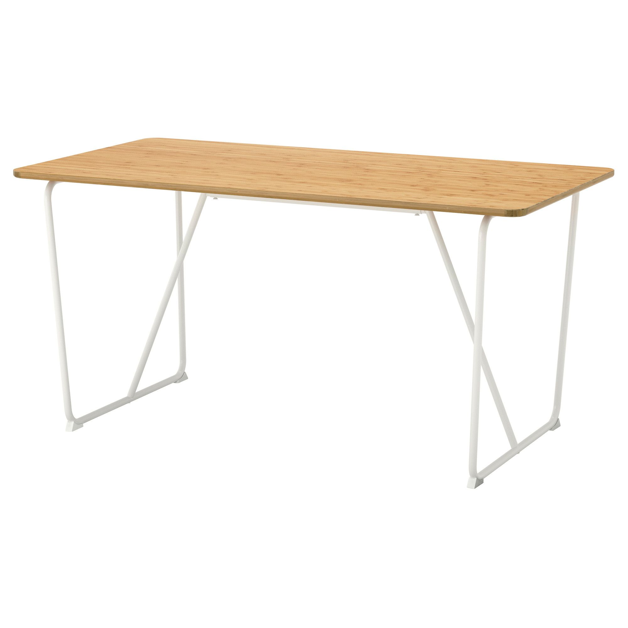 Tischplatte ikea birke  ÖVRARYD Table, white bamboo, Backaryd bamboo white | Tisch weiß ...