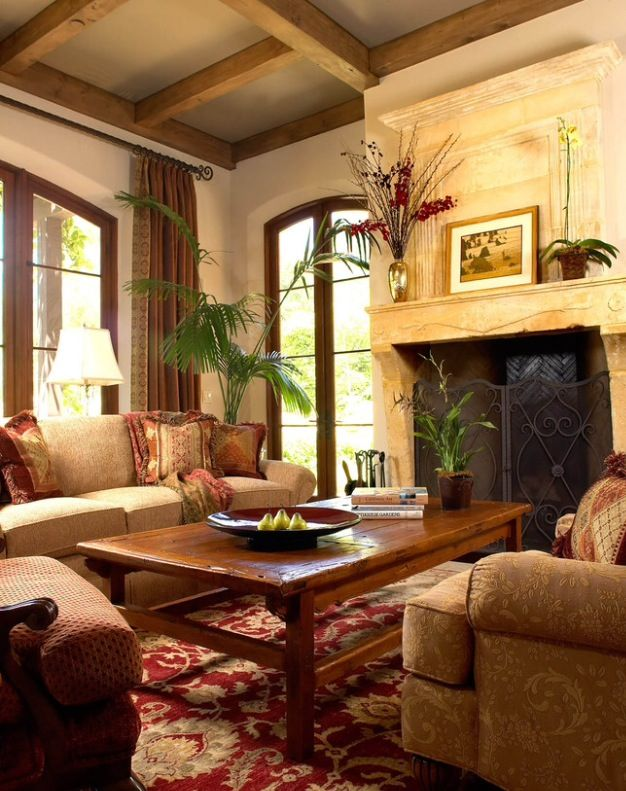 It Doesn\'t Fit!!   Living Room   Tuscan living rooms ...