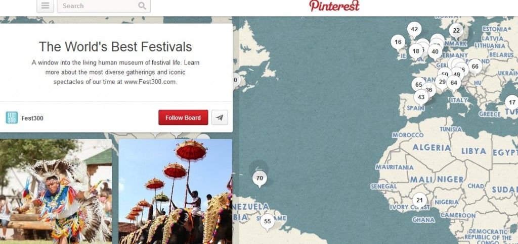 You Can Now Add Maps To Pinterest With Images Fun Festival