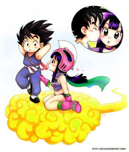 Gokuchichi Dragon Ball Dragon Ball Goku Chichi Goku