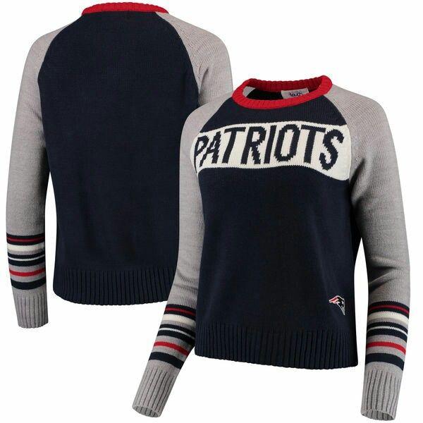 Alyssa Milano Touch Women s New England Patriots Team Spirit Pullover  Sweater - Royal 4060db600