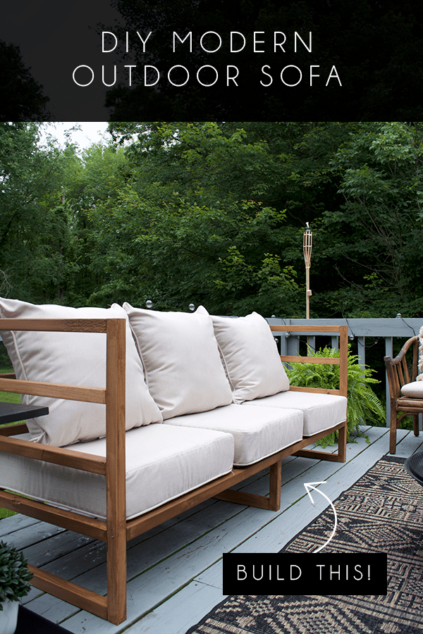 Diy Modern Outdoor Sofa With Images Modern Outdoor Sofas Outdoor Sofa Modern Diy