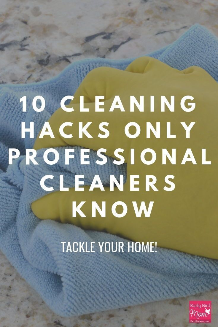 10 cleaning hacks only professional cleaners know images