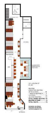 Restaurant Designer Raymond HaldemanRestaurant Floor Plans Raymond Haldeman