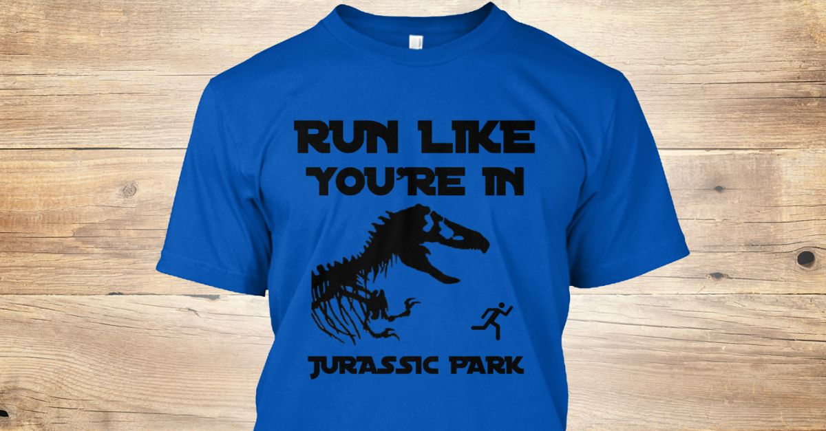 Discover t rex runner tshirt run like youre in