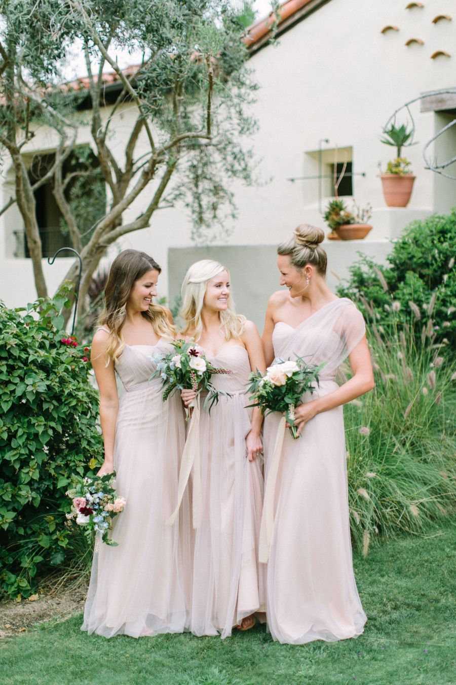 Blush Complementary Bridesmaid Dresses Champagne Bridesmaid Dresses Summer Wedding Colors Wedding Bridesmaid Dresses