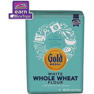 Gold Medal White Whole Wheat Flour 5 Lbs Walmart Com Gold Medal Flour Gold Medal Organic