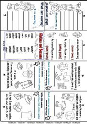 english worksheet mini book clothes and seasons beginners places to visit mini. Black Bedroom Furniture Sets. Home Design Ideas
