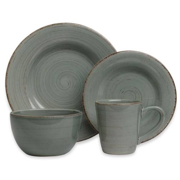 Tag Sonoma Dinnerware In Slate Blue At Bed Bath And Beyond