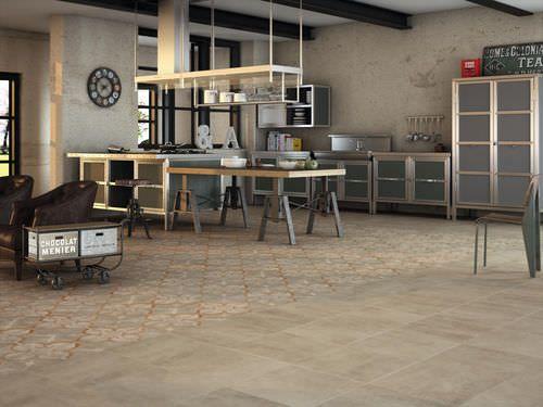Carrelage de cuisine   du0027intérieur   mural   en grès cérame PROVENCE