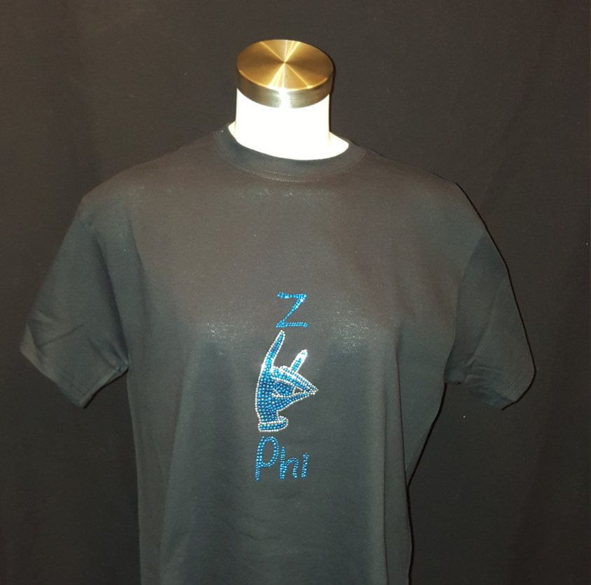 Zeta Phi Beta Z Phi T shirt by LineupBoutique on Etsy