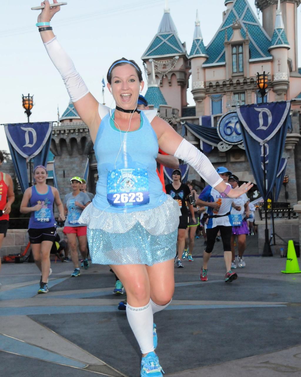 Ladies Womens Adult Monsters Inc Halloween Costume Run ... |Disney Running Costumes Ideas Women