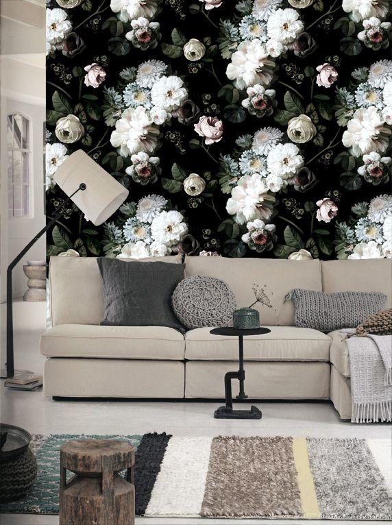 Ellie Cashman Wallpaper...went to high school with Ellie...HOW  Wallpaper  AwesomeContemporary Interior DesignFlower ...