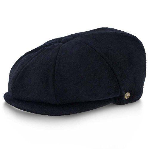 5092b09332b Peaky Blinders Shelby Hat - Walrus Hats Wool Blend 8 Panel Newsboy Cap