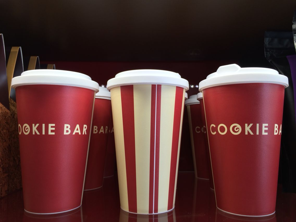 Cookie Bar #reusable mugs, help save the planet by being more eco friendly.