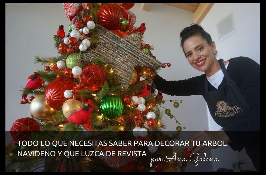 Guia para decorar tu rbol de navidad arboles de navidad - Guia para decorar ...