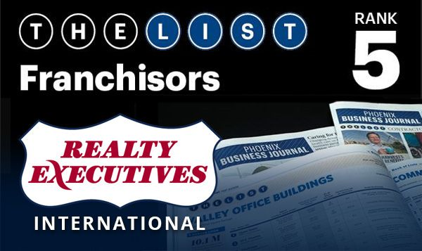 Realty Executives International Ranks 5 In Business Journal S