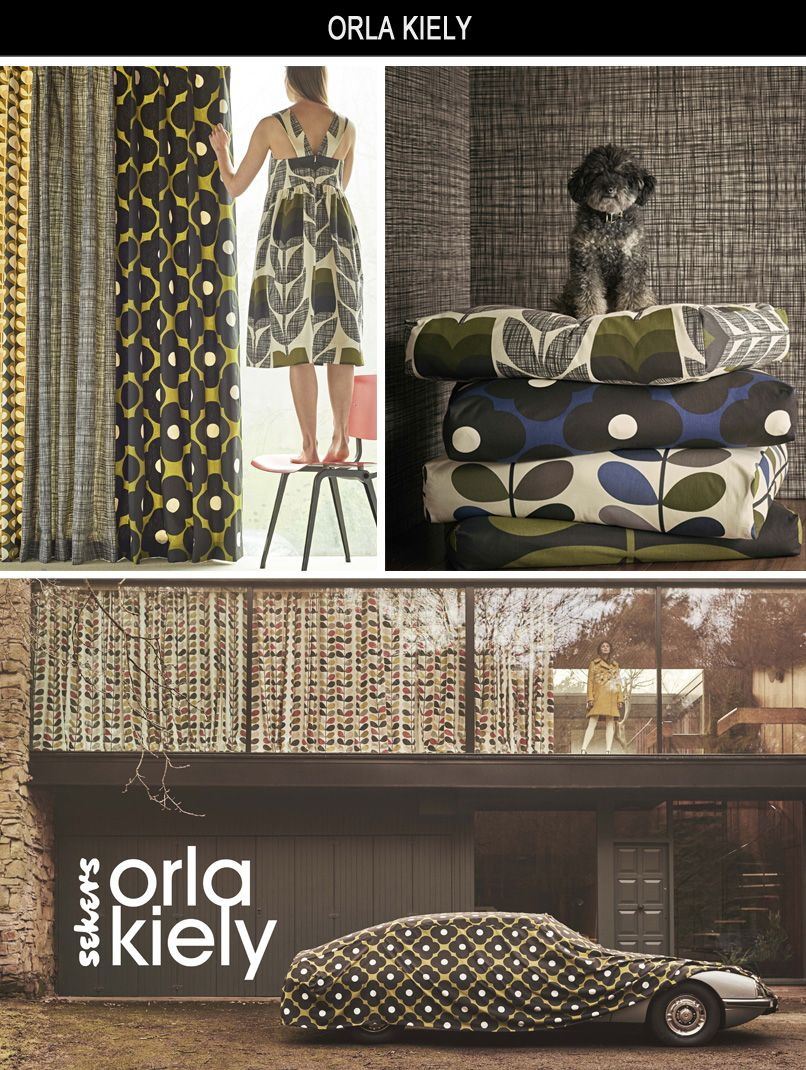 Sekers Orla Kiely Collection Orla Kiely is a renowned
