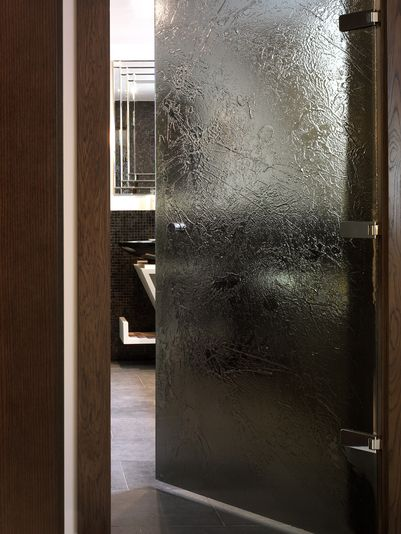Ice Textured Glass Door Decorative Glass For Home Interiors