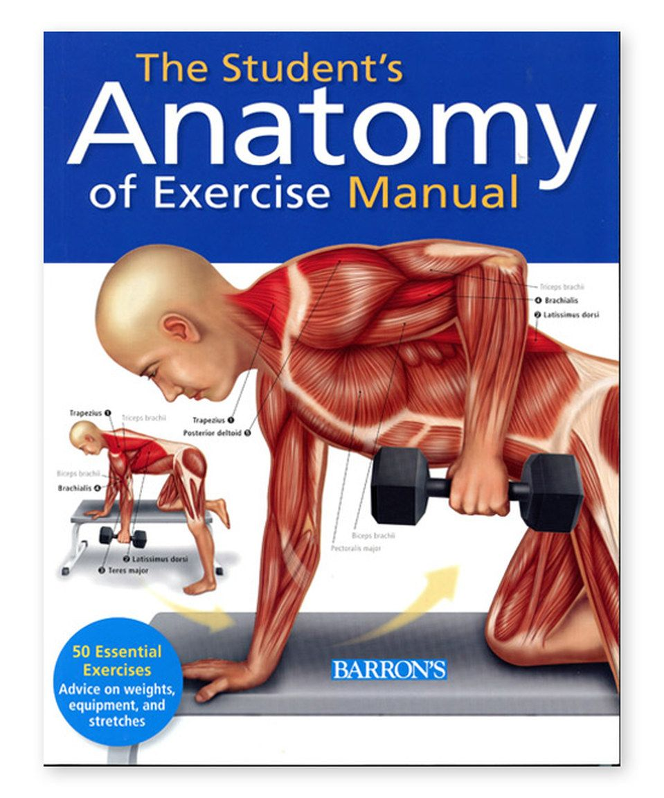 Look what I found on #zulily! The Student\'s Anatomy of Exercise ...