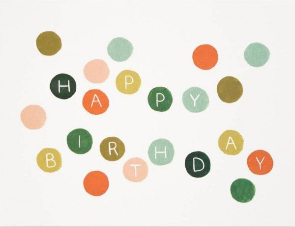 Kaartenset - Happy Birthday - Papiermier