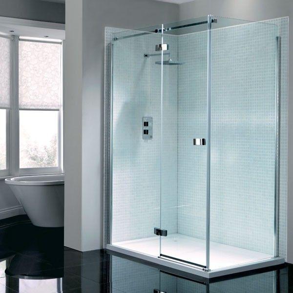 Prestige2 Frameless Hinged Door Shower Enclosure 1200 X 700 Left Hand Shower Doors Shower Enclosure Frameless Hinged Shower Door