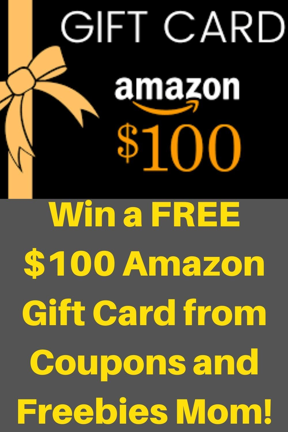 Photo of Win a FREE $100 Amazon Gift Card from Coupons and Freebies Mom!