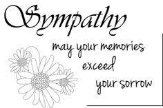 Free Sympathy Clipart Sympathy Sentiment Sympathy Quotes Free Printable Quotes
