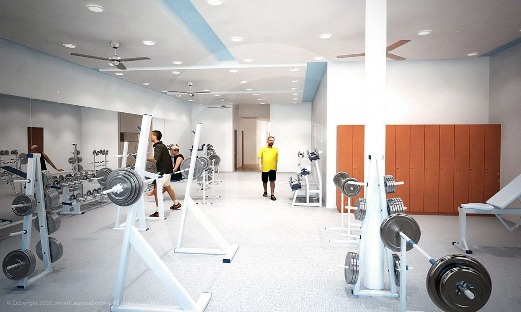 Wild home gym design inspirations interior design modern