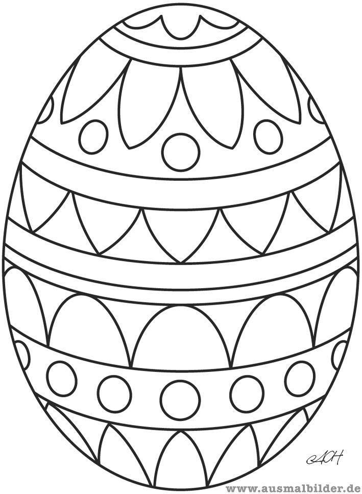 ausmalbilder ostereier mandala 163 Malvorlage Ostern ...