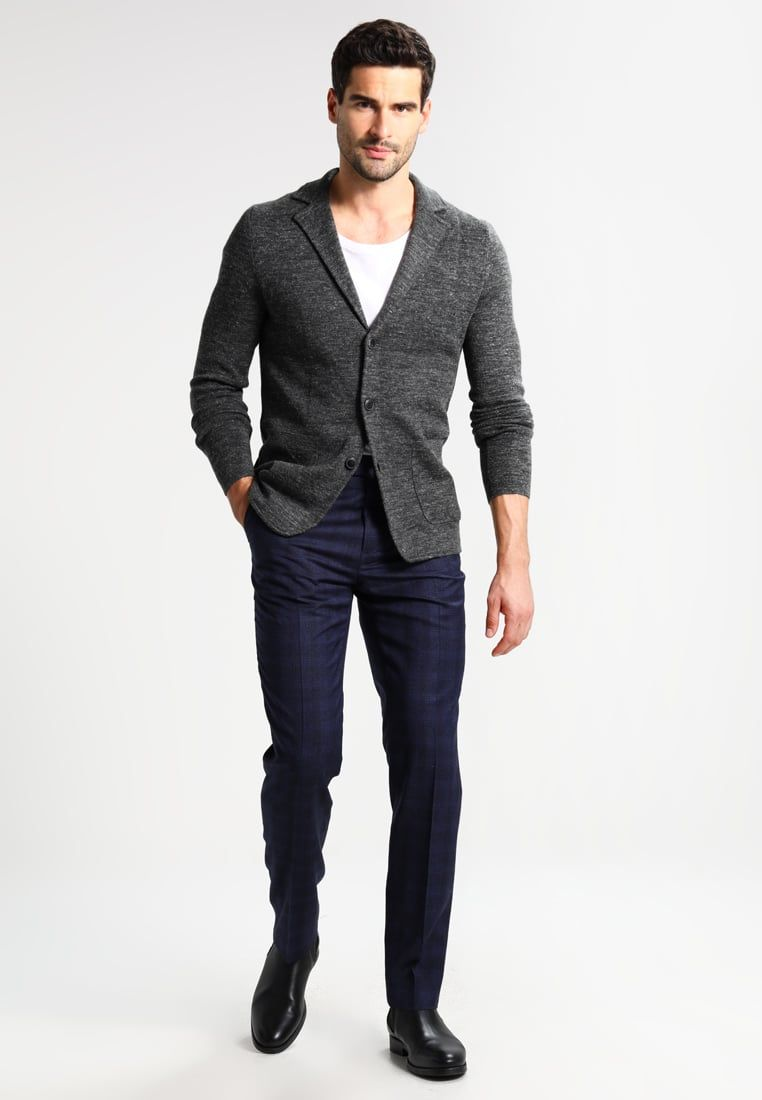 s.Oliver BLACK LABEL Americana - dark grey melange S1sl7mI