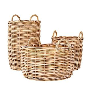 Beautiful Wicker Baskets for towels