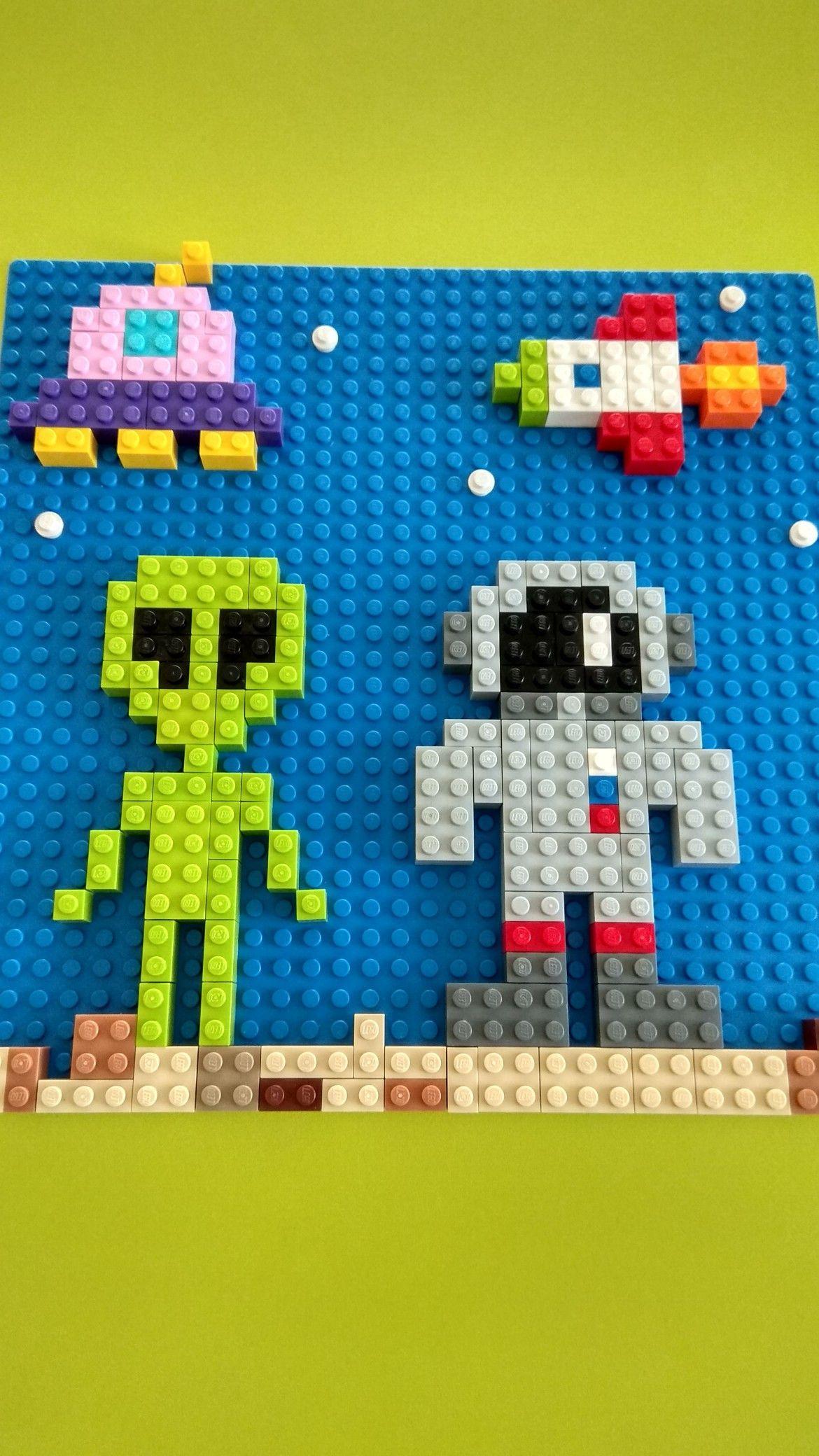Картинки по запросу лего мозаика | Лего проекты, Лего ...