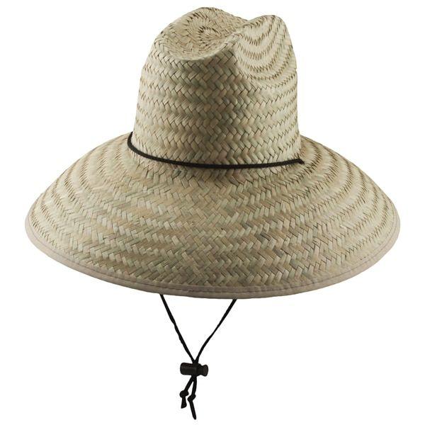 Dorfman Pacific - Palm Lifeguard Straw Sun Hat  d8bbd821611a