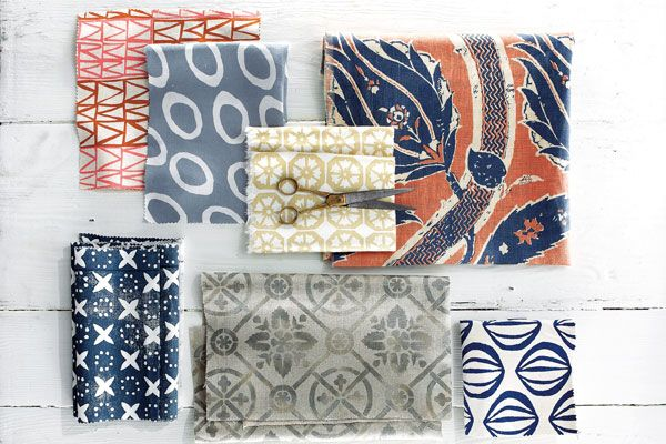 """Recently, we rounded up six of our favorite Southern textile designers in the August issue's Southern Made: Hand-Printed Fabrics.More than one of these new artisans described their designs as """"Fortuny-like."""