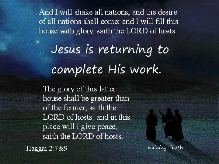 Jesus Will Return | God the father, Lord of hosts, Jesus