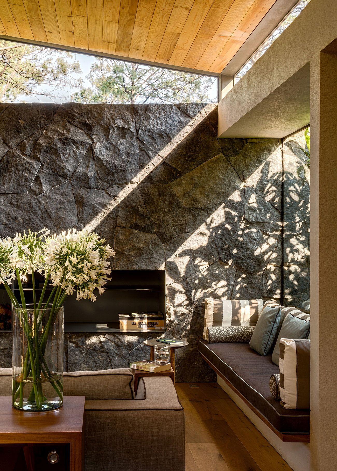 Stone On Interior Walls