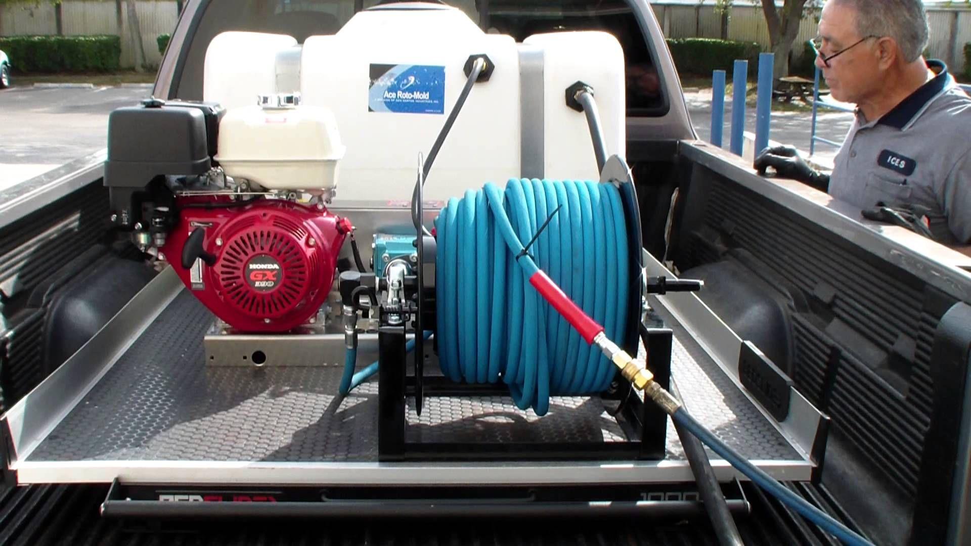 13 hp Honda 4000 PSI @ 4 GPM belt driven Cat Pump pressure