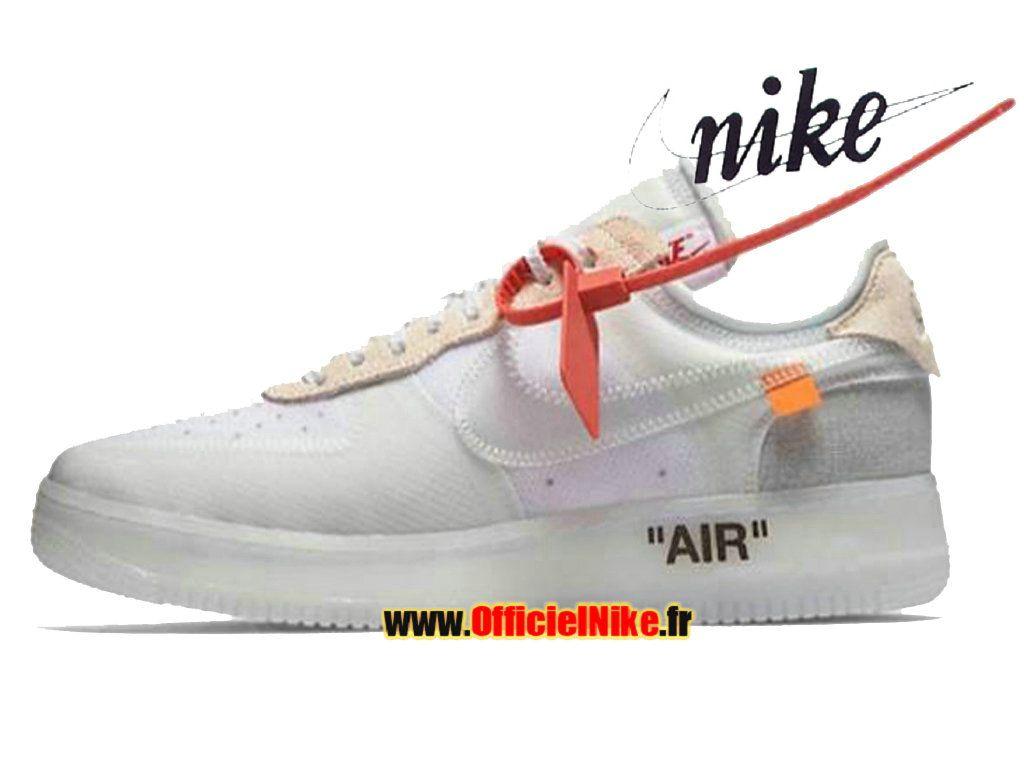 niebla manzana Haz todo con mi poder  Homme Chaussures Off White x Nike Air Force 1 Low The Ten AO4606-100 | Nike  air force, Nike air max tn, Nike air