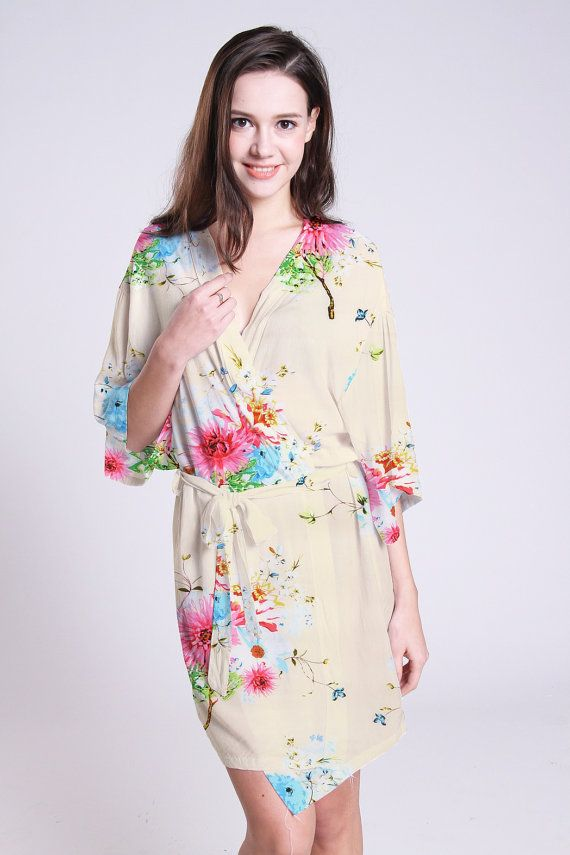 cotton dressing gown ladies dressing gown NOT fleece by ForBride ...