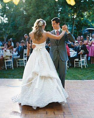 Carolina Herrera would make the most amazing polka dot wedding dress ever.