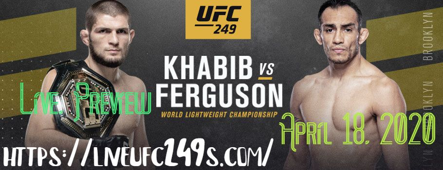 UFC 249 Live Stream online Free 92nd UFC Fight. After more