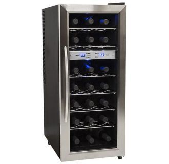 View The Edgestar Twr215e 13 Inch Wide 21 Bottle Wine Cooler With Dual Cooling Zones At Winecoolerdirect