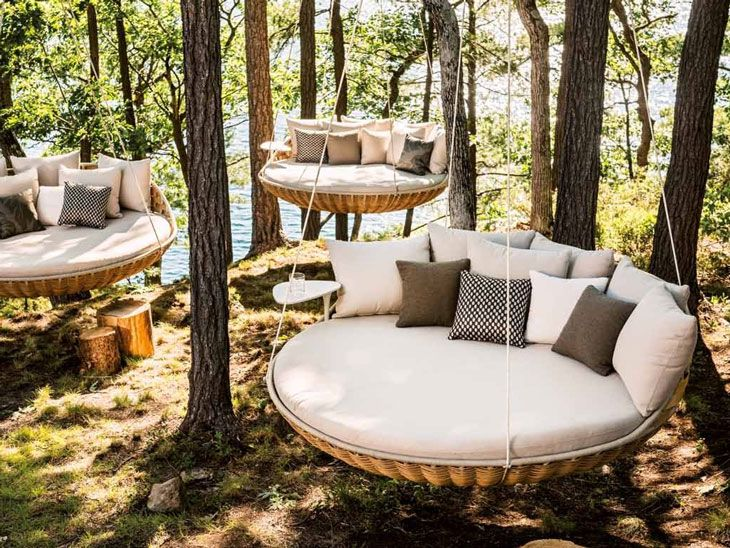 DedonSwingRest48 Furniture Home Pinterest Outdoor Sofa Enchanting Houston Outdoor Furniture Property
