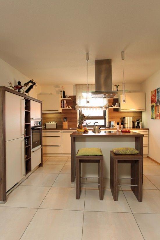 Fertighaus Wohnidee Küche und Esszimmer Bungalow КУХНЯ Pinterest - küche mit esszimmer