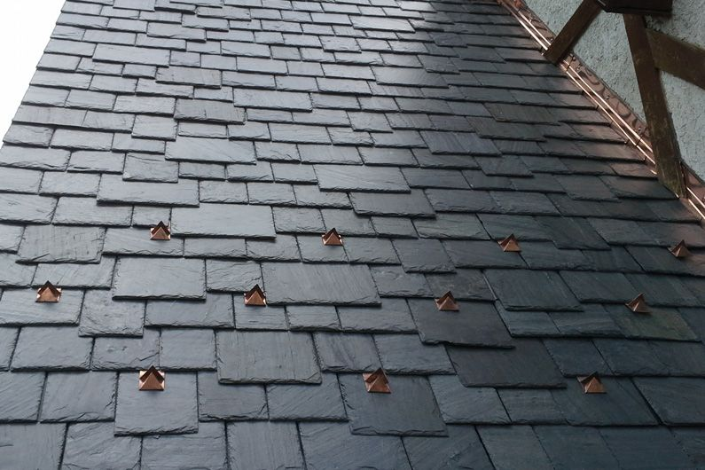 Best Cedar Shake Roof Replaced With Genuine Slate Using 400 x 300