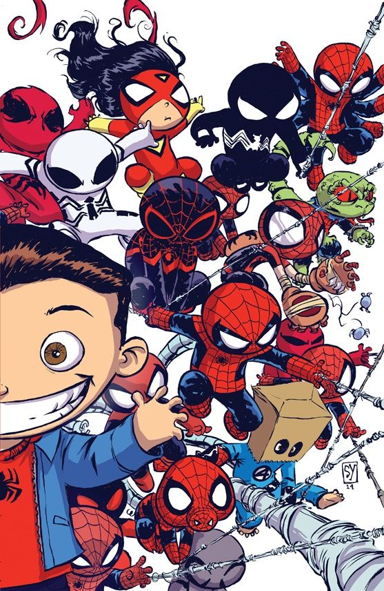 Skottie Young: Amazing Spider-Man Vol. 3 #9 baby variant cover