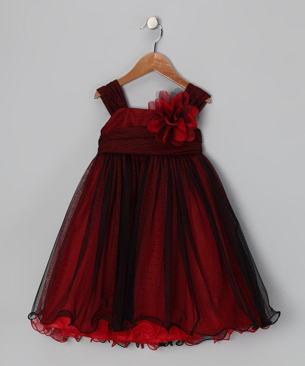 41a296feee74e Red holiday dress for girls | Kids' Fashion | Toddler girl dresses ...
